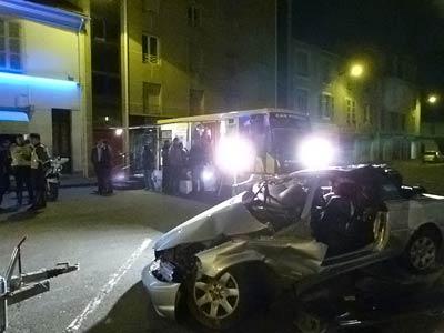 opération prévention routière à Pau